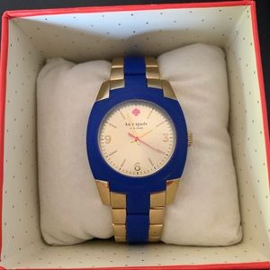 Blue and gold Kate Spade Watch *Resell*